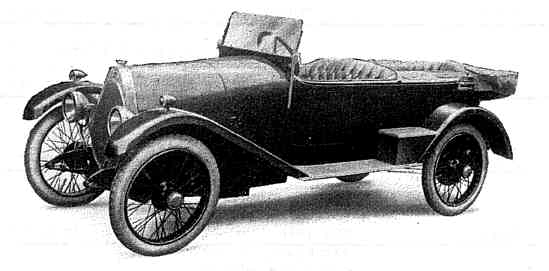 The Crossley Bugatti Car