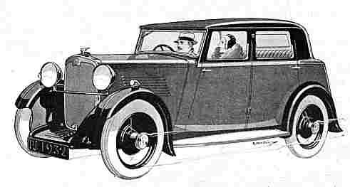 Crossley 10hp car