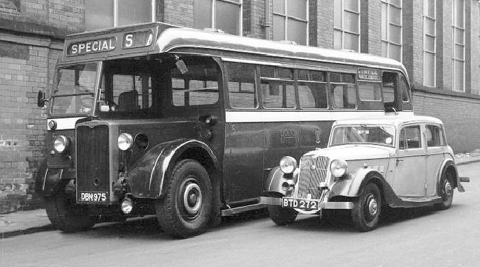 The Crossley Sd42 Single Deck Bus